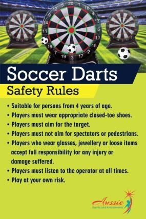Soccer Dart A Frame