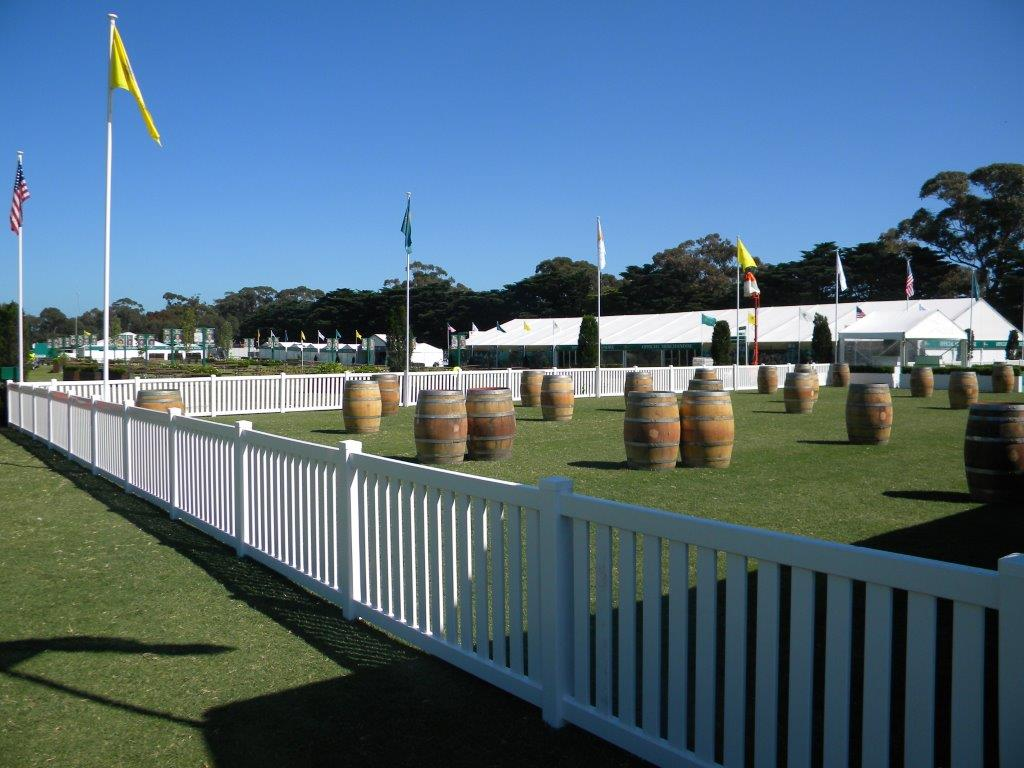 White Picket Fencing, 1.8m per length